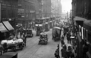 Oxford Road in the Early 20th Century | by Greater Manchester Police