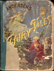 Andersen's Fairy Tales, 1889 front cover