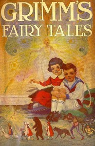A first-edition illustration of Grimms Fairy Tales by Edwin John Prittie