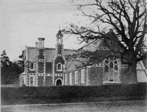 St Paul's school, 1860s.