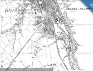 'Home', a map of Dawdon, 1914