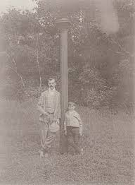 A Father and Son in an area of Whittlesey in the mid 1800's, where Alf spent his early childhood years.