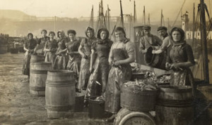 Working Class Fisher Girls in Yorkshire