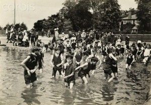 Children playing in Hamstead Heath, Arthurs home