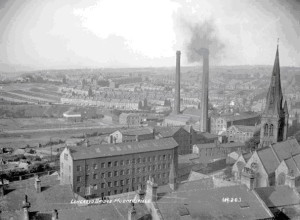 Mill in West Yorkshire.