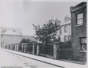 Numbers 22 - 32 Plaistow Road in 1902.