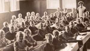 Image of school children