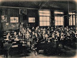 1900s school, image of what Bessie's would of looked like.