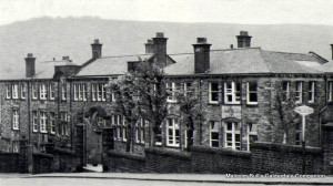 The original building for Todmorden Grammar School in Ferney Lee Road