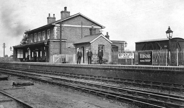 Whittlesey Train Station - where Alf would have journeyed from at the beginning of his rambling years.