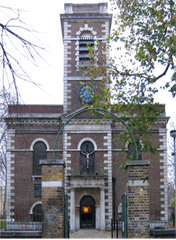St. Matthew's Church, Stepney - the church Henrietta and her mother attended