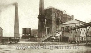 Seaham Colliery High Pit, circa 1900's.