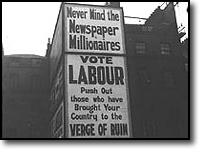 Labour poster, 1922.