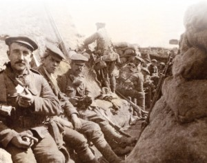 6th Battalion of Durham Light Infantry in trenches- 24th May 1915