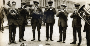 1920's street brass band.