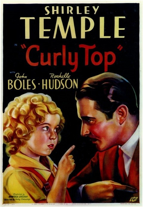 """Curly Top"" poster (1935)"