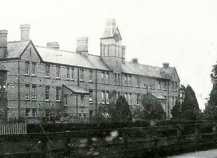Whittlesey Union Workhouse. Don't worry! Alf, fortunately, never had to reside here - but many people who he knew surely would have.