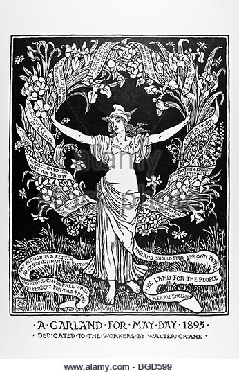 a-garland-for-may-day-1895-cartoons-for-the-cause-walter-crane-bgd599