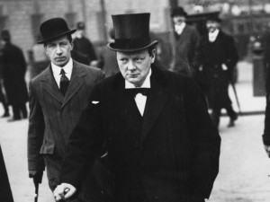 Winston Churchill, Minister of Munitions during WWI