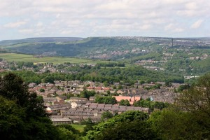 Elland in West Yorkshire, where Joseph's mother received treatment.