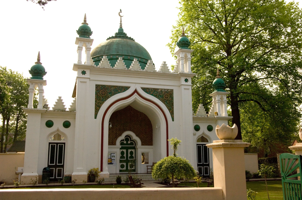 The Shah Jahan, the first purpose built mosque in England and the location of Rasul's first job