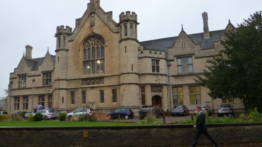 Oundle School, in which Alf attended from the age of 7. Here shown in the present day.