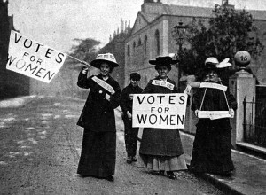 Mandatory Credit: Photo by Roger-Viollet / Rex Features (437381ae) Suffragettes demonstrating for the vote for women - 1906 VARIOUS, LONDON, BRITAIN
