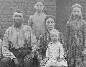 A Working-Class Family from the 19th Century