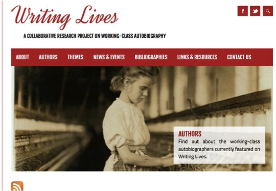 Writing Lives Home Page