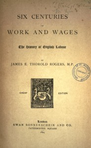 Six Centuries of Work and Wages