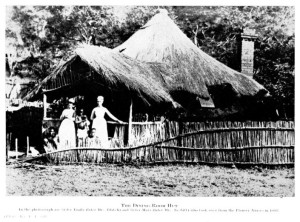 This is the type of accommodation Kay was subject to during her stay in Southern Rhodesia. Image credit: blennerhassettfamilytree.com